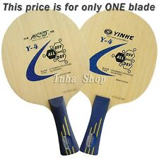 Galaxy Table Tennis Blade, Y-4, Wood + Carbon, NEW