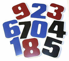 """6"""" EASY TO MOUNT PVC MODERN ADDRESS HOUSE NUMBER 4-1/2"""", 8"""", 12"""" ALSO AVAILABLE"""