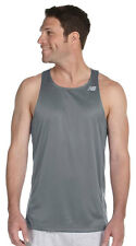 New Balance Men's Athletic Fit Tempo Running Mesh Racerback Tank Top. N9138