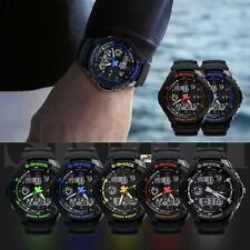 Multi-Function Cool S-Shock Sports Watch LED Analog Digital Waterproof Alarm LG0