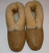 HUSH PUPPIES MR BICK GENUINE SHEEPSKIN WOMEN'S SLIPPERS MADE IN USA CUTE