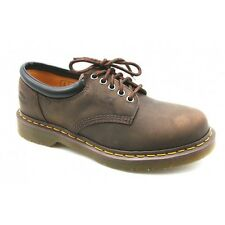 Mens Dr Martens 8053 5 Eyelet Padded Collar Gibson Shoe Gaucho Brown R11849201