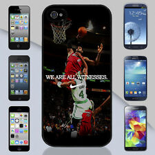 Lebron James Miami Heat We Are Witnesses iPhone & Galaxy Case Cover