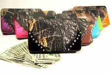 Camoflauge Western Wallet for your inner Cowgirl - ALL COLORS aw135