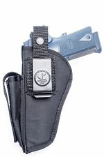 Citadel 1911 .45 ACP | Nylon OWB Open Cary Belt Holster with Mag Pouch