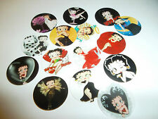 Pre Cut One  Inch BETTY BOOP CARTOON IMAGES!  Free Shipping In U.S.