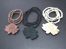 New Hip-hop fashion good wood nyc Necklace ( DOPE Ghost )