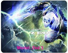 Custom, Mouse Pad, League of Legends, LOL,  Zed, 5 to chose from. free shipping