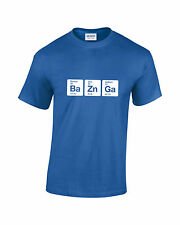 Bazinga Periodic Elements Funny Big Bang Theory T-Shirt