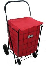 Grocery Folding Shopping Cart Liner Insert Attaches Easily To Cart (LINER ONLY)
