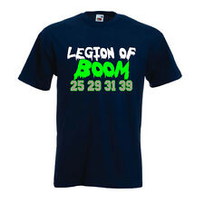 "Richard Sherman Seattle Seahawks ""Legion of Boom"" Jersey T-shirt Shirt"