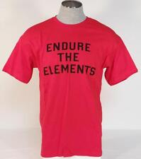 Element Endure The Elements Red Short Sleeve Tee Shirt Mens NWT