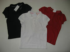Gymboree Uniform School Girls Size 3 5 6 7 8 9 Polo Short Sleeved Shirts NWT