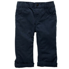 """Baby Girls New With Tags """"Dark Blue Denim"""" Stretch Jeans/Pants -Size 3-24 Months"""
