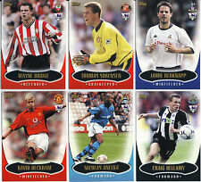 TOPPS PREMIER GOLD 2003 FOOTBALL CARDS M - W & RECORDS STRAIGHT FROM THE PACKETS