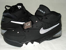 NEW 8 Nike Air Force Max 2013 Shoes Black White Gray Fab 5 Barkley 555105 002