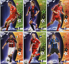PANINI CHAMPIONS LEAGUE 2007  FOOTBALL CARDS 61-120 MINT CONDITION MOST ARE NEW