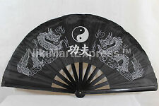 Oriental Dragon Kung Fu/Tai Chi/Dance/Practice Performance Hand Folding Fan