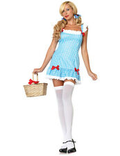 Adult Ladies Sexy Darling Dorothy Fairytale Book Fancy Dress Outfit Costume
