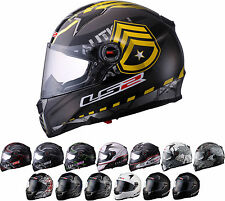 *Ships Same Day* LS2 FT2 FF396 (Fierce, Lucky 7, Veteran...) Motorcycle Helmet