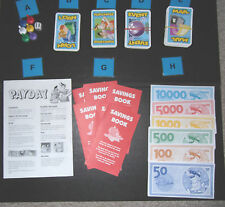 Spare/ replacement parts for PAYDAY game 2002   cards, rules, money