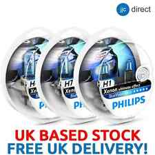 PHILIPS BLUE VISION ULTRA HEADLIGHT BULBS. H1 H3 H4 H7 H11 HB3 HB4 FITTINGS HERE