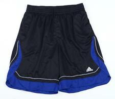 Adidas Black & Blue Pro Model Hype Basketball Athletic Shorts Mens NWT