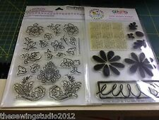 Floral Clear Stamps Various Designs To Choose Paper/Card Craft Scrapbooking