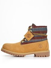 Timberland Men's LEATHER Rolltop Wheat Boots 6456A ALL SIZES 7-15 USA SELLER