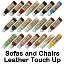 Sofa Chair Leather Touch Up Scratch Repair Pen. All Colors & Custom Paint Dye.