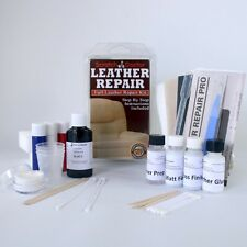 Leather Furniture Sofa & Chair Repair Kit for Rips, Holes, Scuffs and Color Dye