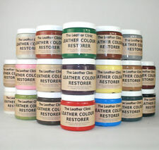 Leather Colour Dye Restorer for faded & worn leather.