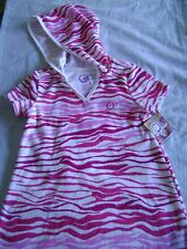 SWIM HOODED COVER-UP - SZS. 18M, 3T - NWT