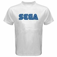 SEGA SHIRT logo genesis dreamcast sonic RETRO game NEW