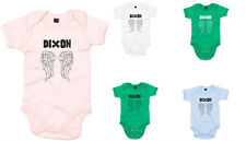BZ10_PD085_Dixon Angel Wings, The Walking Dead inspired Kid's Printed Baby Grow