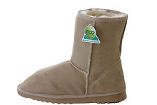 Australian Made Sheepskin UGG Boots Classic Short Men and Lady Beige Colour