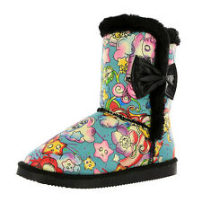 IRON FIST OVER THE RAINBOW FUGLY BOOTS (R32C)