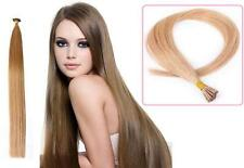 "18"" Indian Remy AAA Grade Double Drawn Stick Tip Human Hair Extensions x100 0.9g"