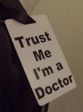 Novelty Luggage Crew Tags - Trust me, I'm A Doctor
