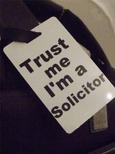 Novelty Luggage Crew Tags - Trust me, I'm A Solicitor