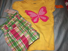 NWT Gymboree Strawberry Sweetheart/ Island Lily outfit k you choose the size