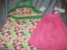NWT Gymboree Strawberry Sweetheart/ Island Lily outfit e you choose the size