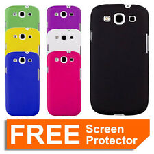 Hard Case Cover Skin for Samsung Galaxy S3 SIII i9300 + Screen Protector
