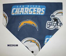 Over Collar Slide On Pet Dog Cat Bandana Scarf San Diego Chargers