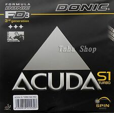 Donic Acuda S1 turbo, Donic Pimples in Table tennis Rubber