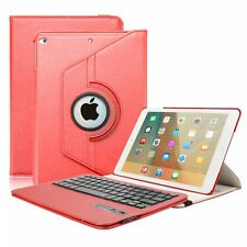 360° Rotating Stand Smart leather case cover For ipad 2 3 4 with Embossed flower