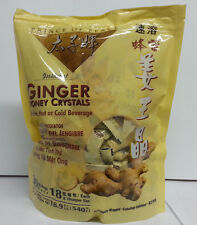 (1pk-3pks) Prince of Peace - Instant Ginger Honey Crystals (30x18g Bags) Honsei