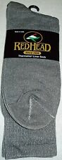Red Head by Bass Pro Shop Thermolite Gray Liner Sock NWT