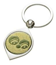 Bowls Silver Coloured Keyring - Mothers Day Fathers Day - free engraving - gift