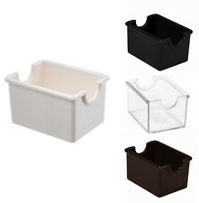 New! Commercial Lot Plastic Sugar Packet Holder Caddy Restaurant Equipment